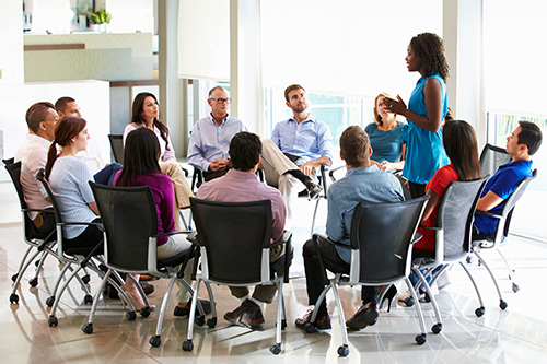 We implement communication strategies to promote long term Conflict Resolution